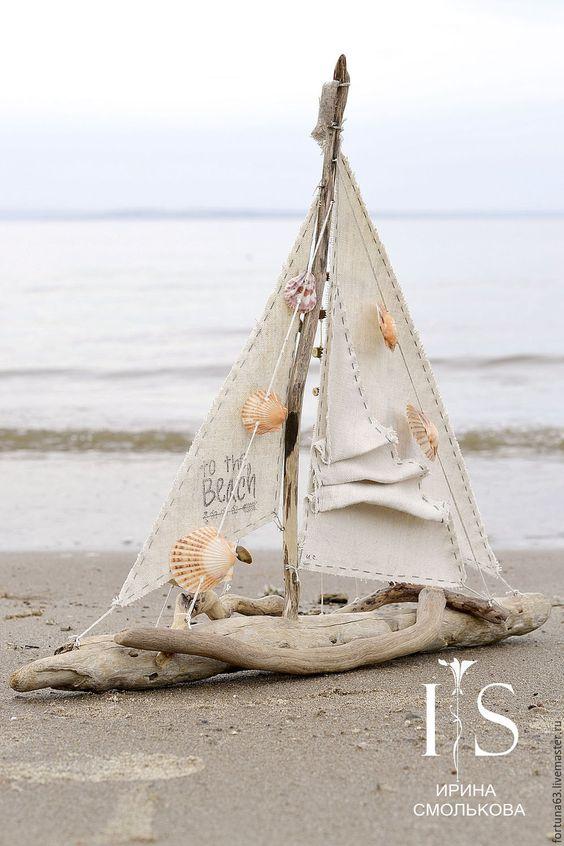 корабли из ракушек