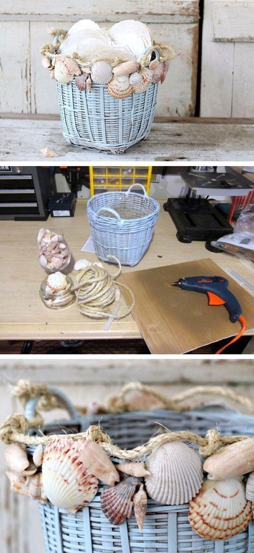 хранение ракушек дома