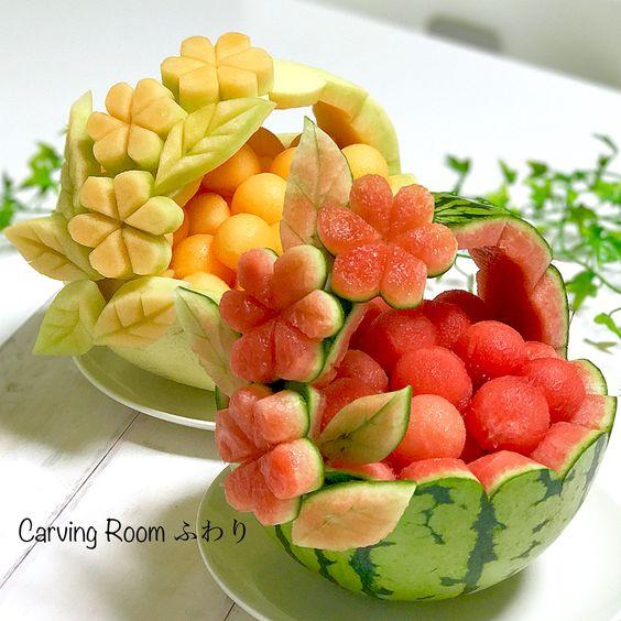 фрукты для карвинга