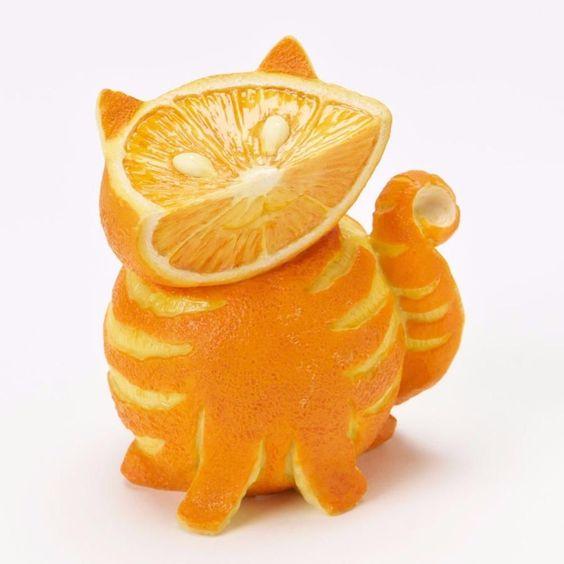Апельсиновый кот