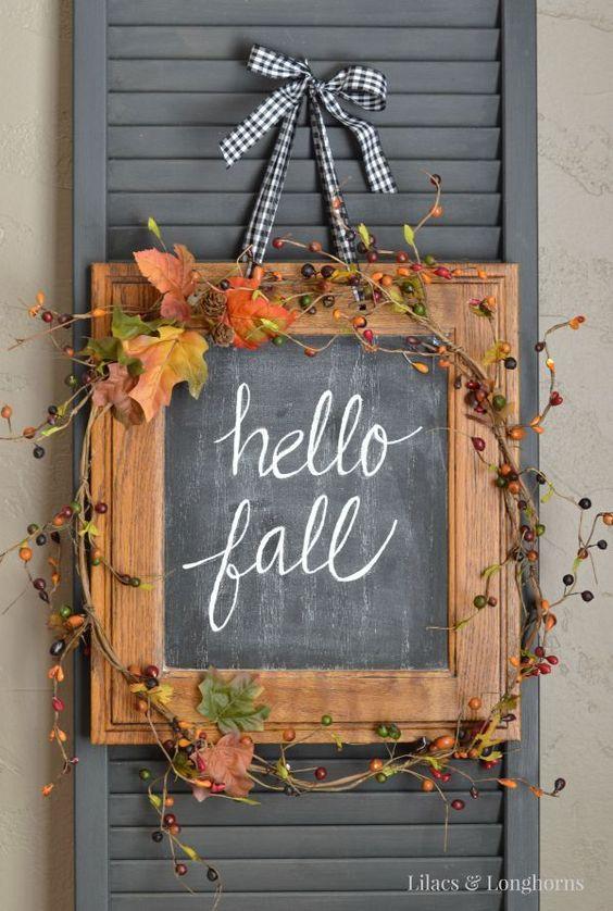 Картина Привет осень