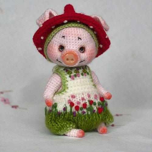 свинка крбчком своими руками