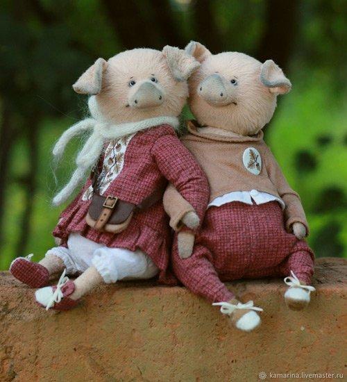 милые свинки на заказ