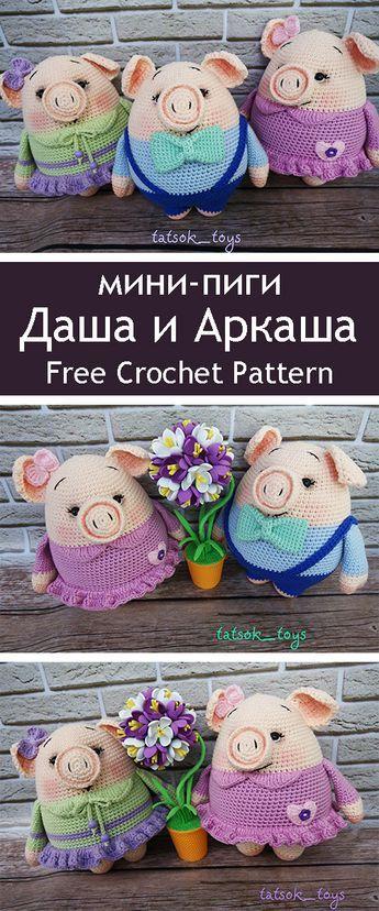Мини-пиги Даша и Аркаша