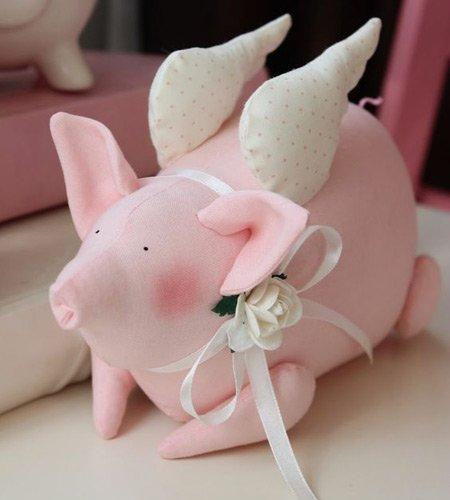 свинка-ангел