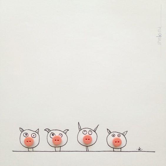 семейство свинок