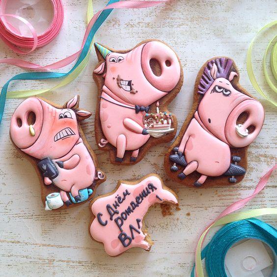пряники-свинки
