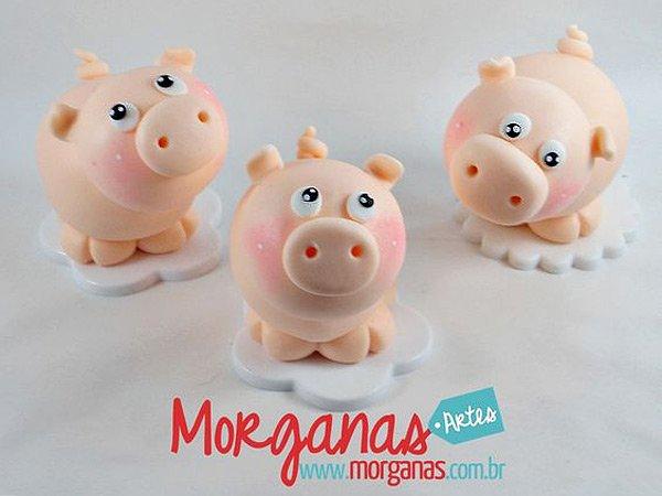 свинки из теста