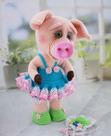 Свинка Соня мастер-класс