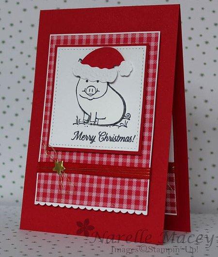 рождество в год свиньи