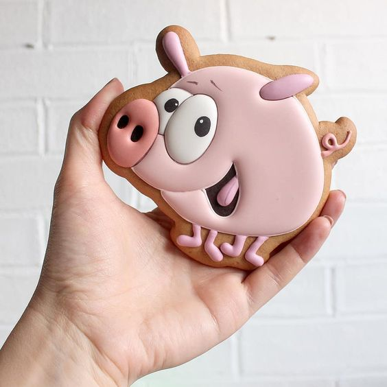 пряничная свинка