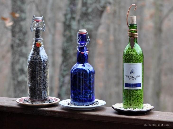 кормушки из бутылок