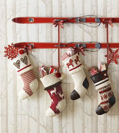 Рождественские носочки своими руками