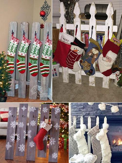 Заборчик для рождественских носков