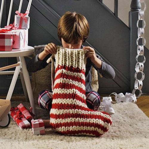 Гигантский носок для подарков