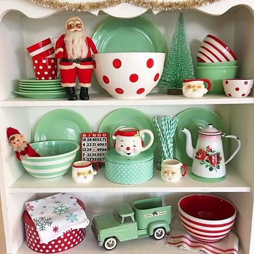 Посуда к Новому году