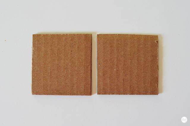 Квадраты картона