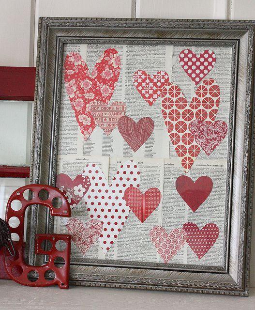 Картинка из сердечек