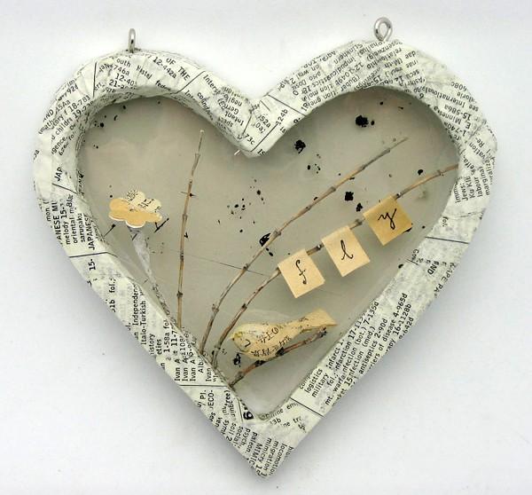 Диорама в форме сердца