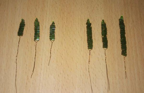 Листья подснежника из рубки