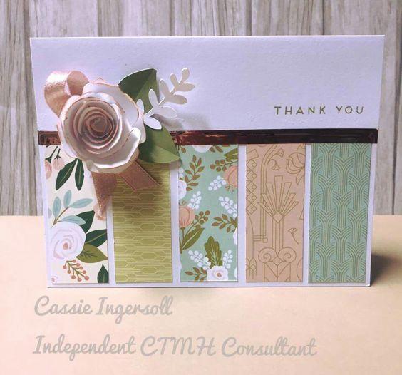 открытка с лентами