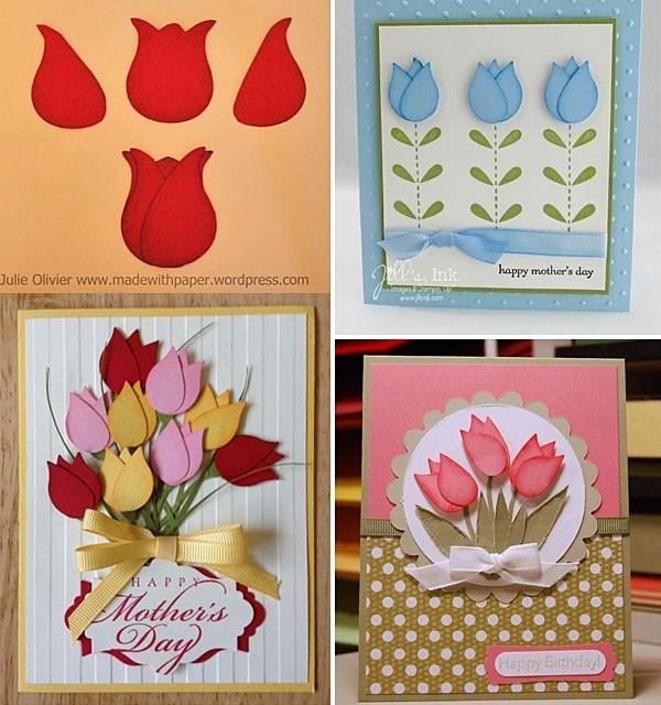 разные открытки от детей