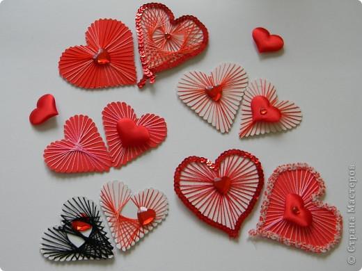 валентинка изонитью без иголки