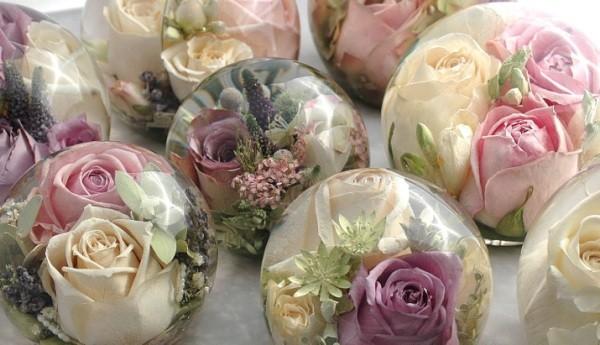 цветы в глицерине своими руками