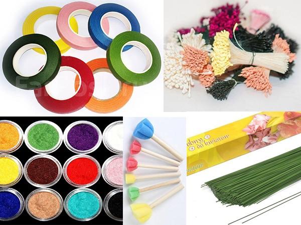 материалы для цветов из фоамирана