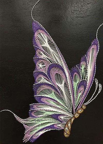 изонить бабочка