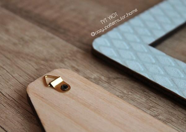Способы крепления деревянных букв