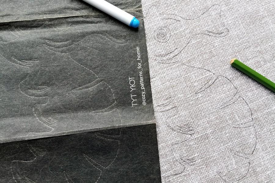 Мастер-класс по переносу рисунка на ткань