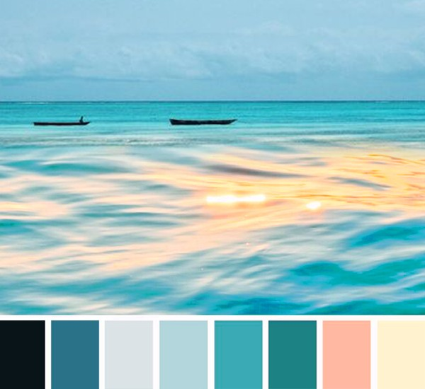 цветовая палитра coastal