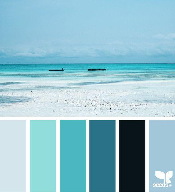 Цветовая гамма coastal