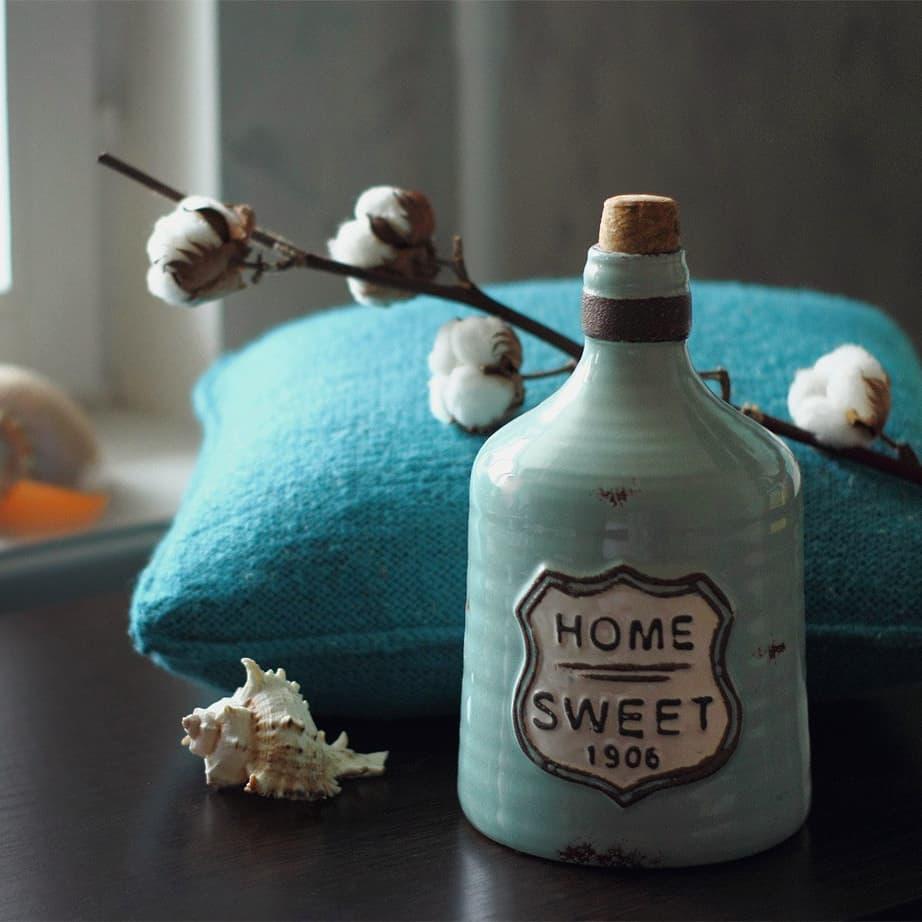 Керамическая ваза HOME
