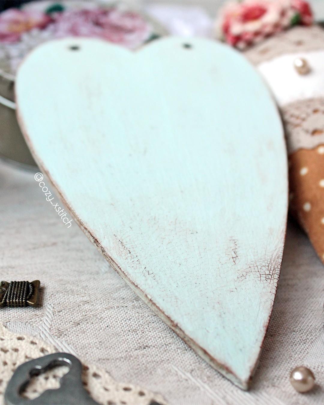 Винтаж сердце тильда