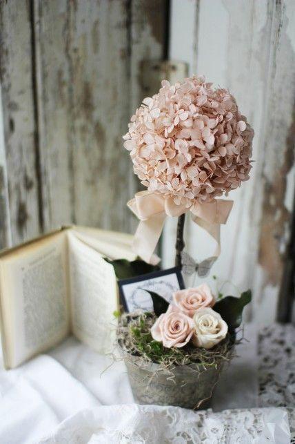 розовый бонсай