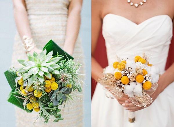 букет невесты с краспедией