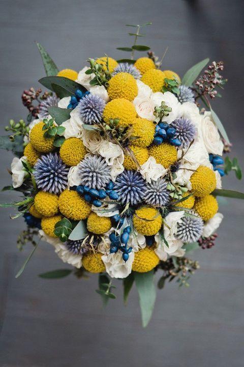 композиция с живыми цветами