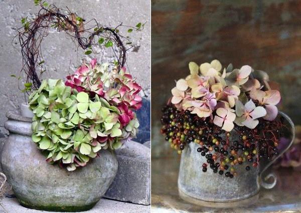 садовые вазы
