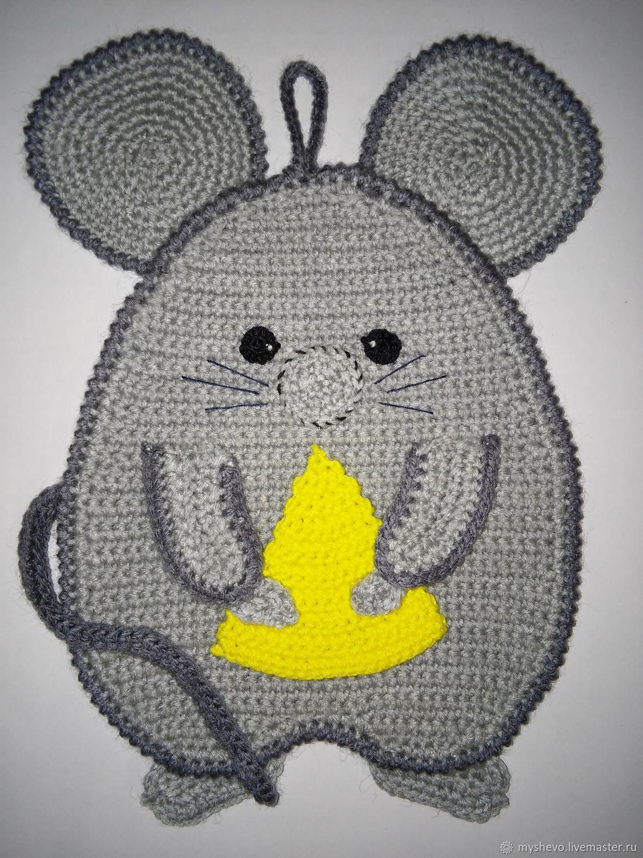 мышка крючком