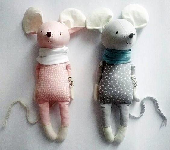 куклы-мышки