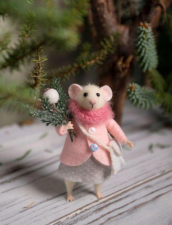 мышка-леди