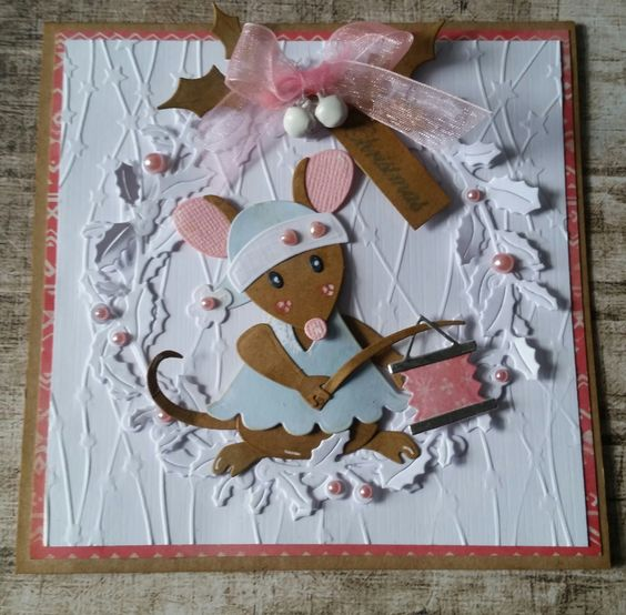 открытка с животными