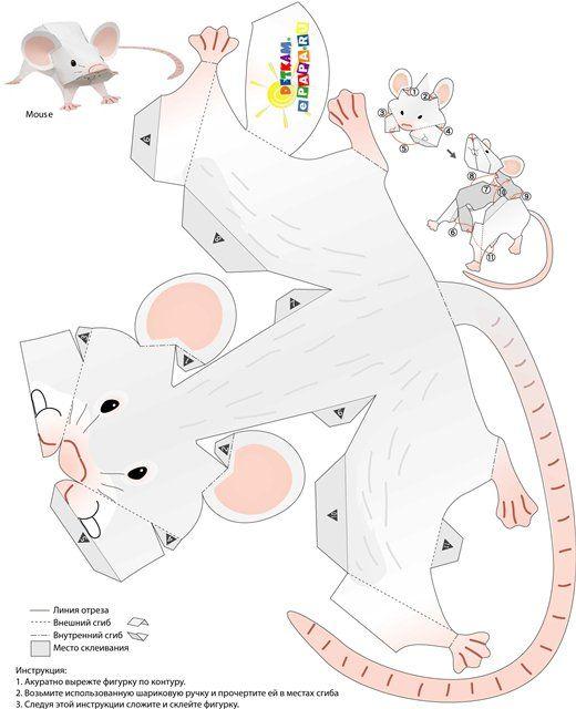 развертка мыши