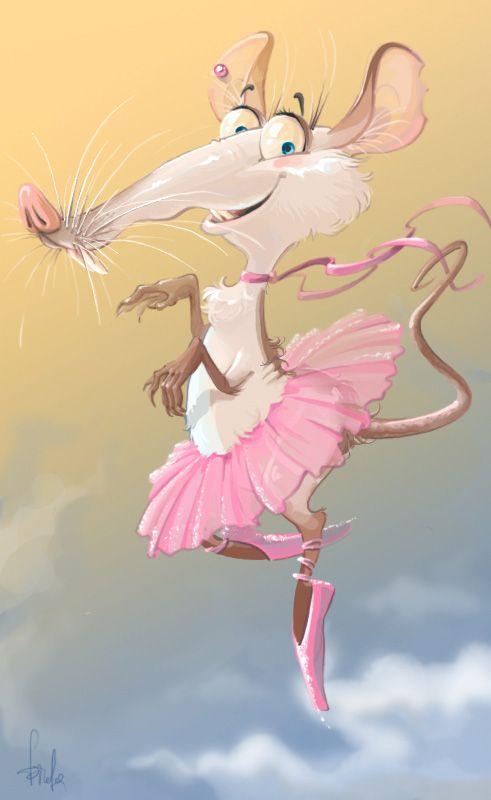 танцующая балерина