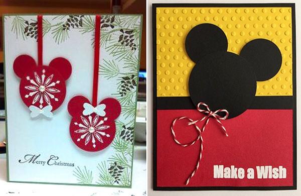 открытки с Микки Маусом
