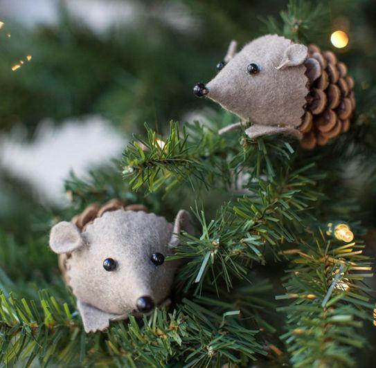 крыски на елке
