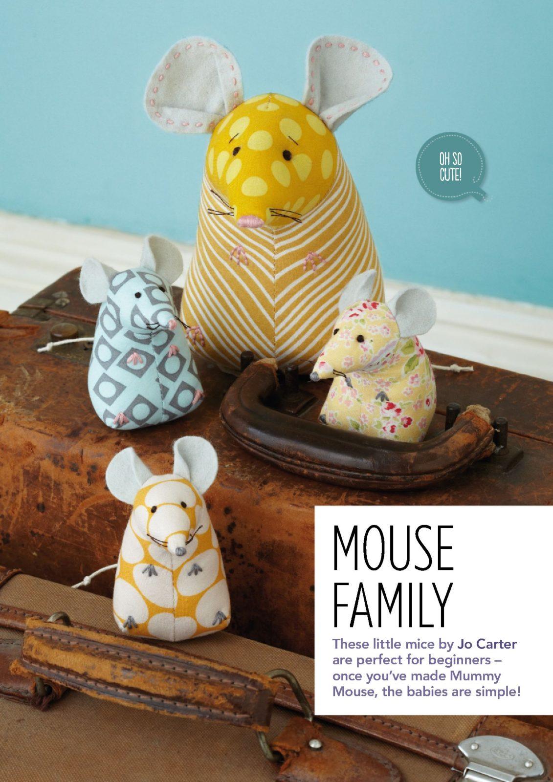 семейство мышей и мышек