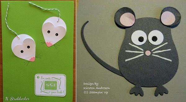 схемы для открыток